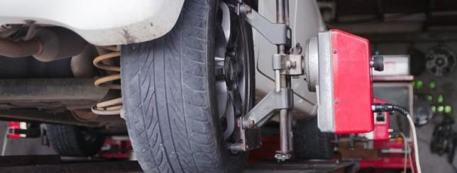 Hjulinställning av däck